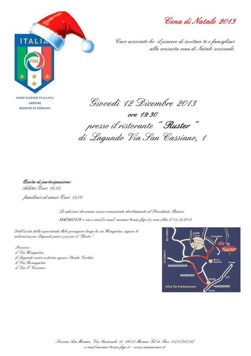 Cena di Natale 2013 associati